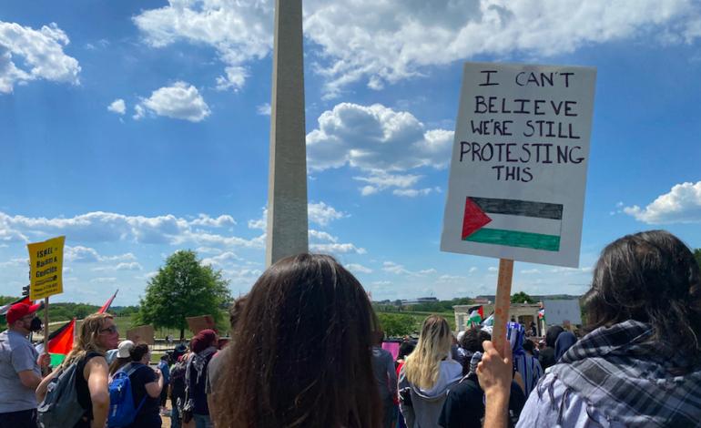 Pro-Palestinian protests across the globe feature antisemitic rhetoric, violence