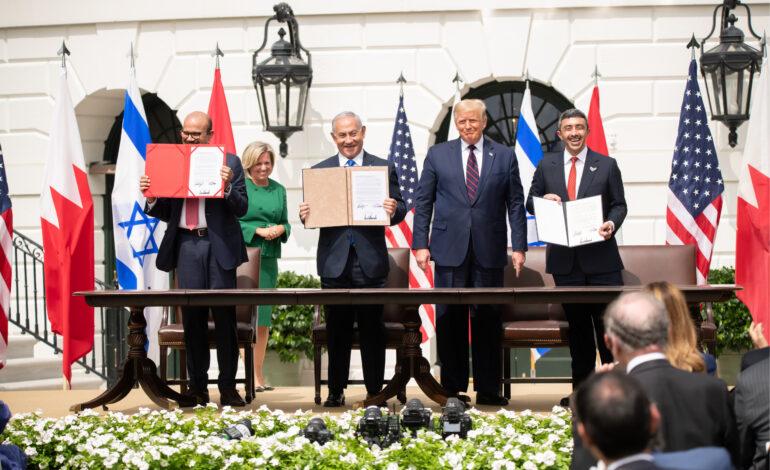 Biden and Democrats Recognize, Sabotage Abraham Accords